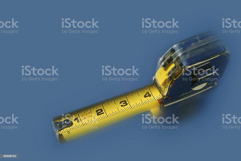 Yellow Tape stock photo