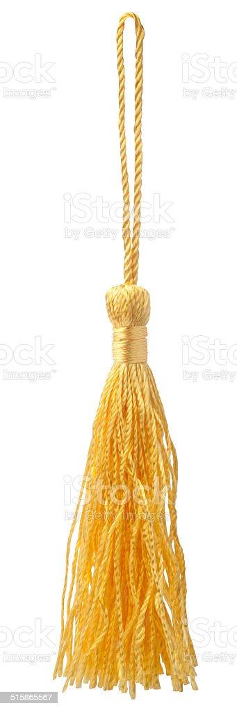 yellow tassel stock photo