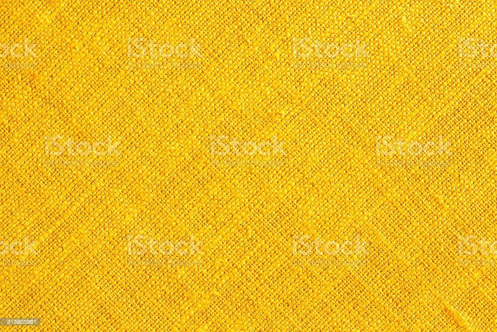 Yellow Textile Background. stock photo