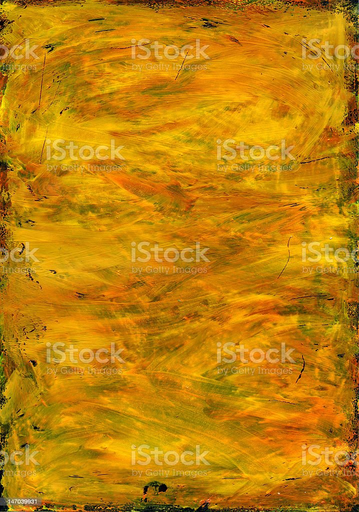 Yellow texture with black borders royalty-free stock photo