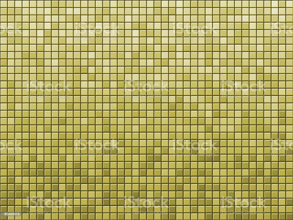 Yellow tile royalty-free stock photo