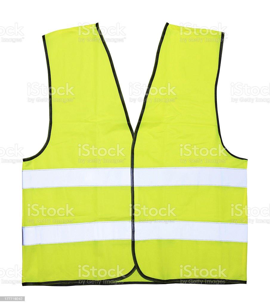 Yellow vest stock photo