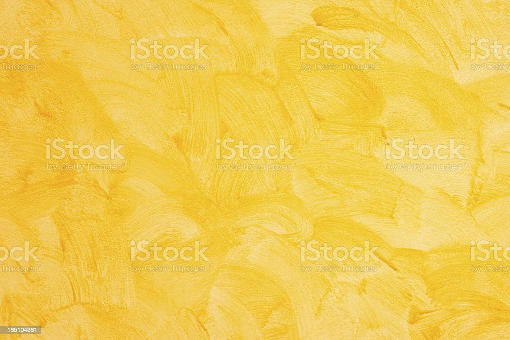 Yellow Wall Background stock photo