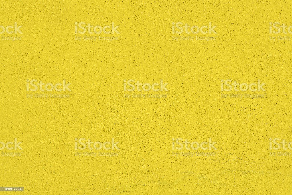 Yellow Wall Background; Texture Pattern royalty-free stock photo