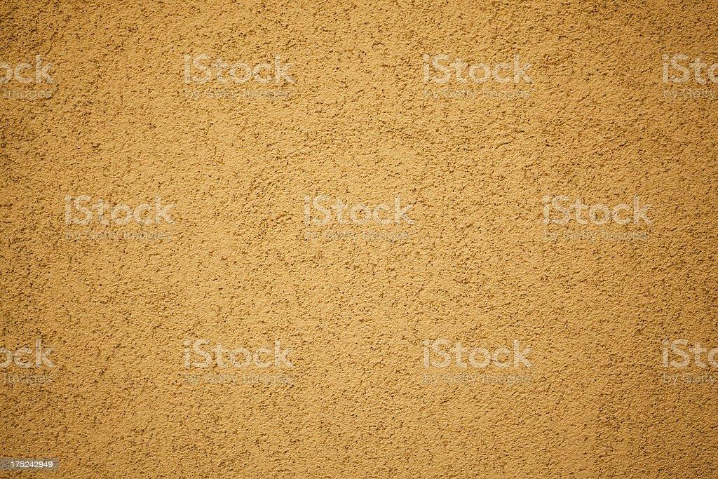 Yellow Wall Texture royalty-free stock photo