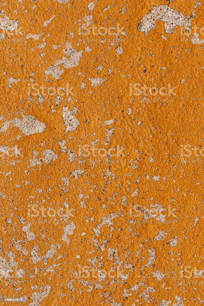 Yellow wall texture. stock photo