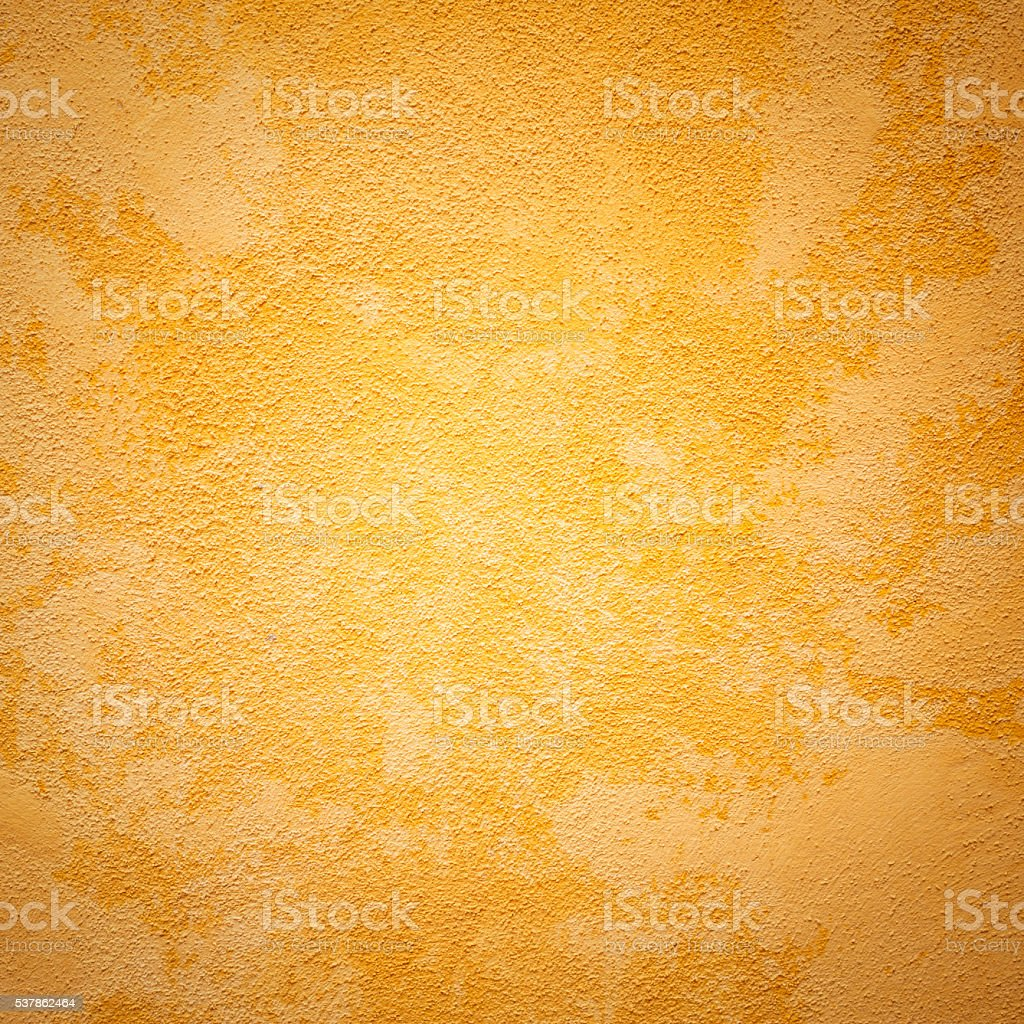 Yellow Wall Texture, Square stock photo
