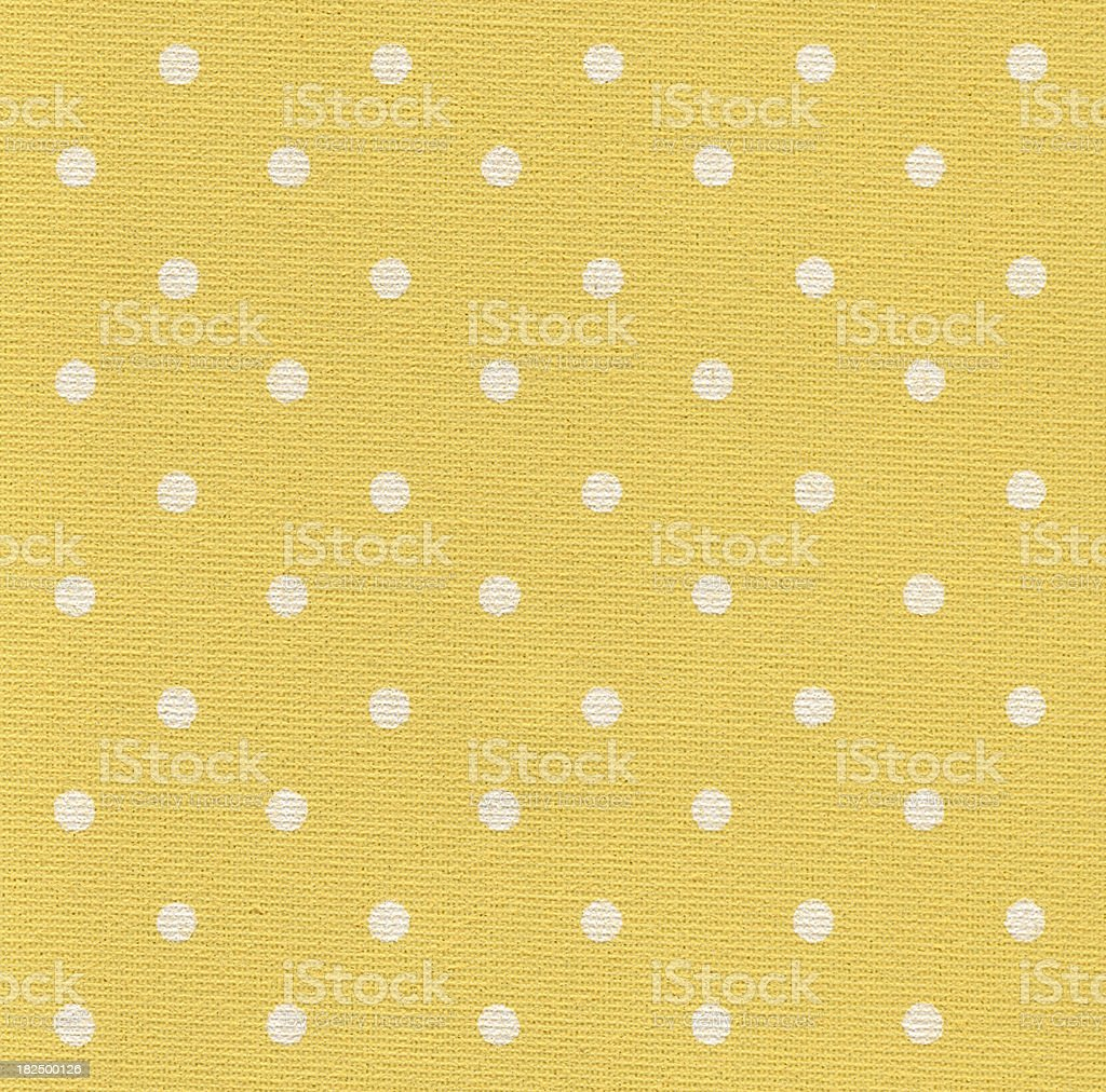 Yellow wallpaper with white dots royalty-free stock photo