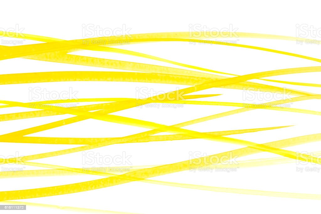 Yellow water colors lines stock photo