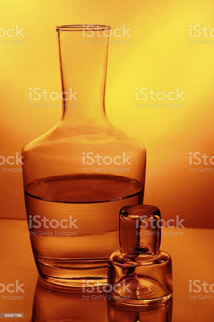 yellow water stock photo