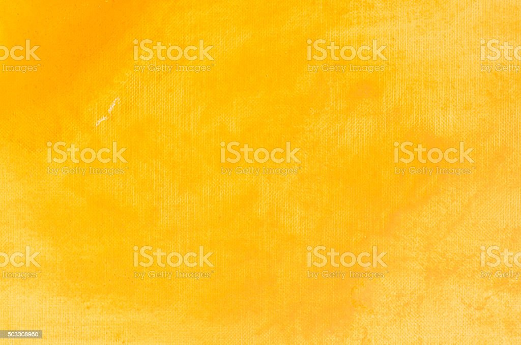 yellow watercolor painting background stock photo
