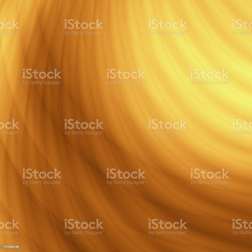 Yellow wavy summer design royalty-free stock photo