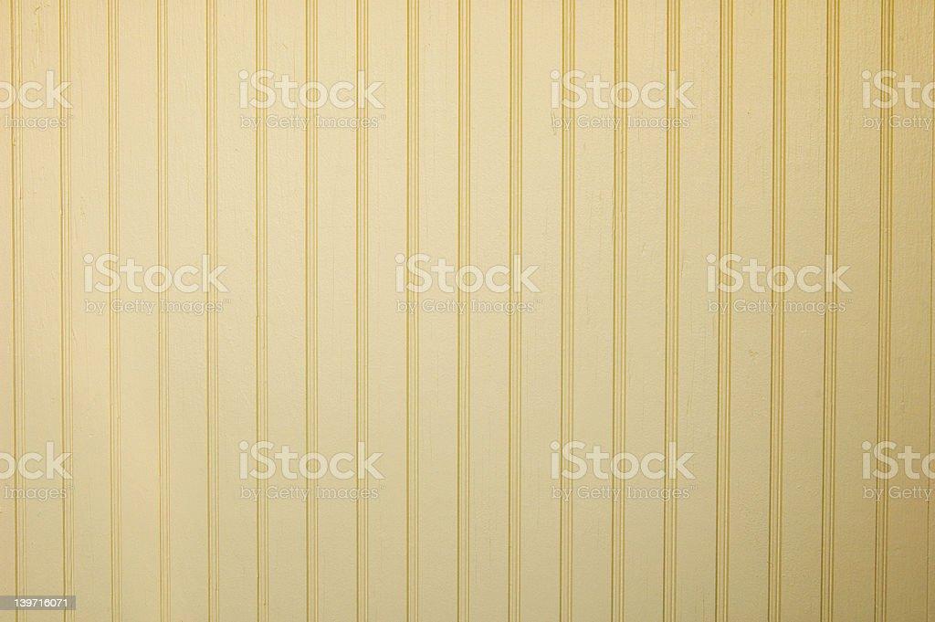 Yellow Wood Wainscotting Texture stock photo