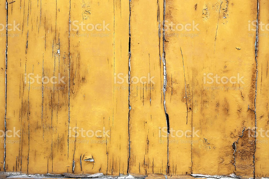 Yellow wooden background royalty-free stock photo