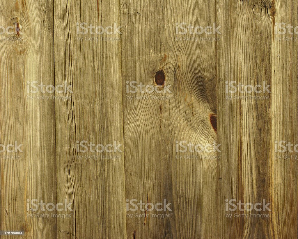 Yellow wooden fence background royalty-free stock photo
