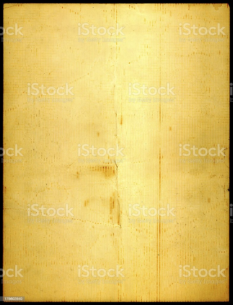 yellowed old paper royalty-free stock photo
