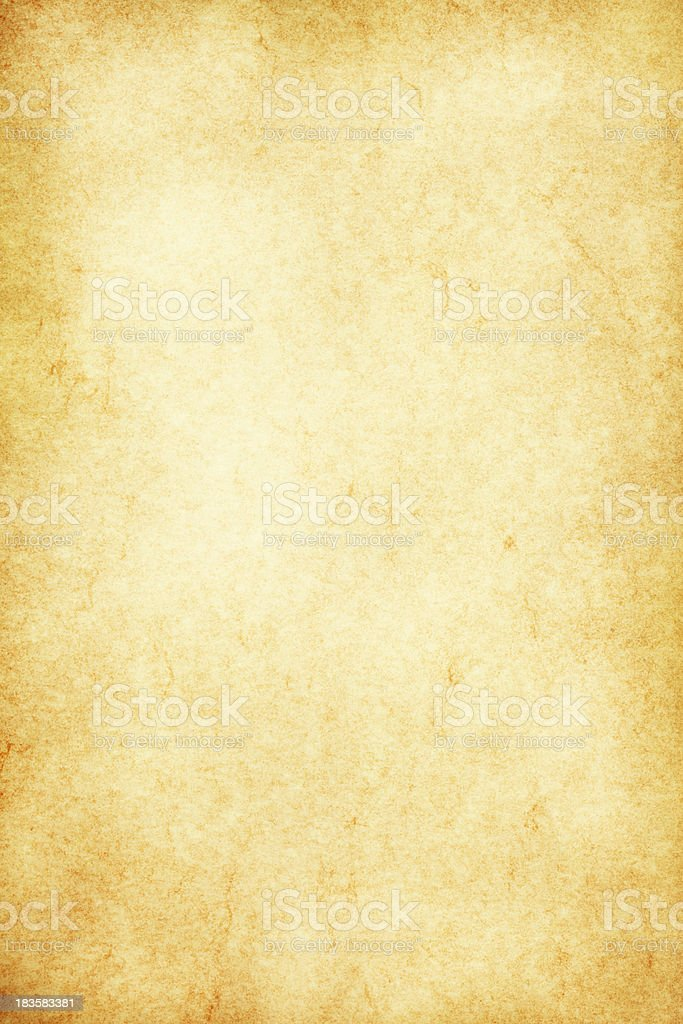 Yellowed Paper Background royalty-free stock photo