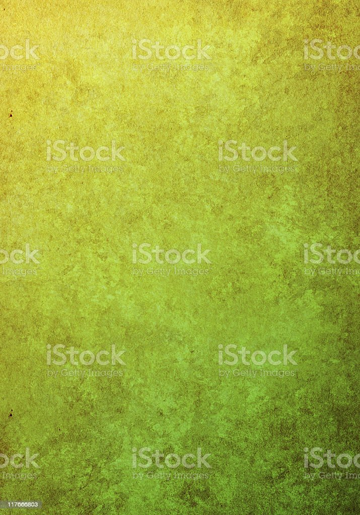 yellow-green grunge texture royalty-free stock photo