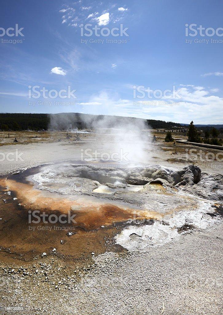 Yellowstone : Avoca Spring stock photo
