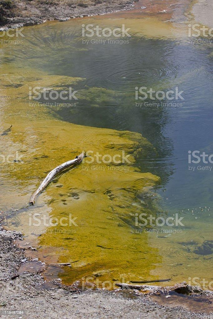 Yellowstone lieu géothermique photo libre de droits