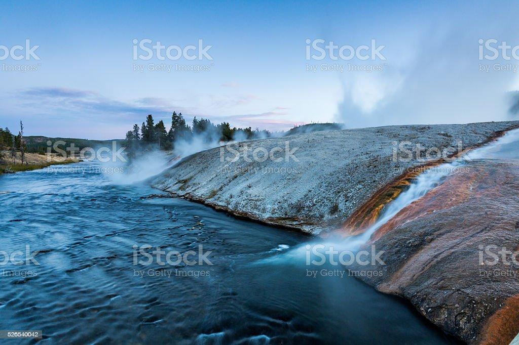 Yellowstone National Park, Wyoming, USA stock photo