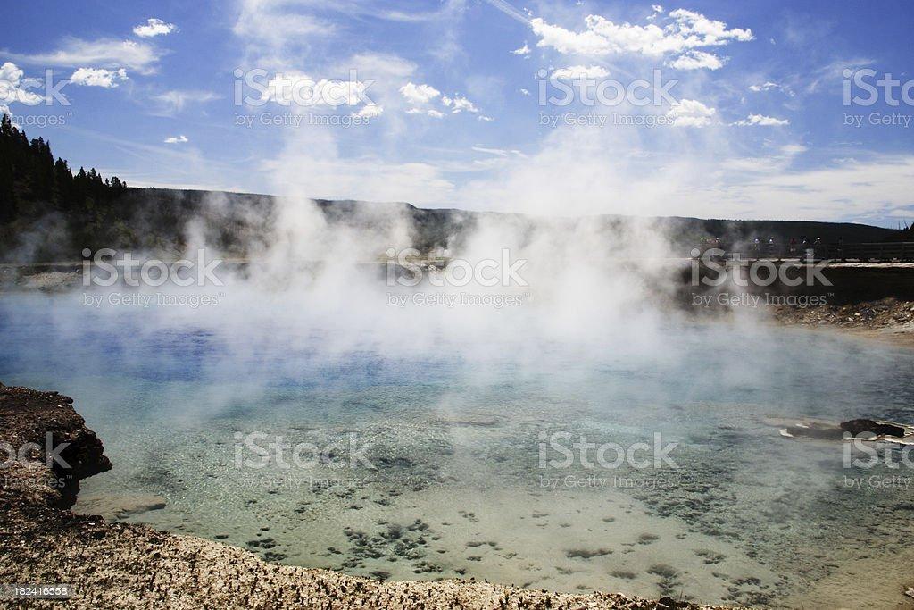 Yellowstone royalty-free stock photo