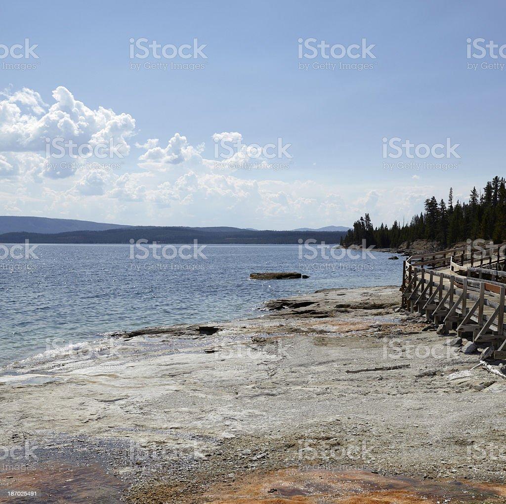 Yellowstone : West Thumb Geyser Basin royalty-free stock photo
