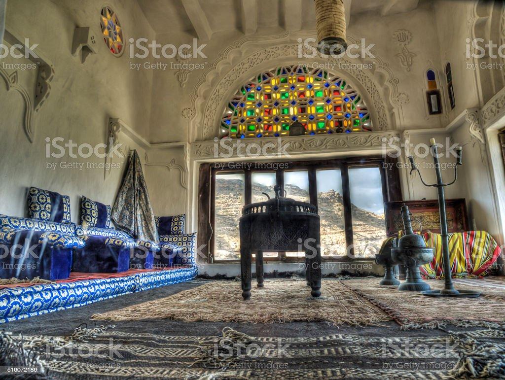 Yemen room HDR stock photo