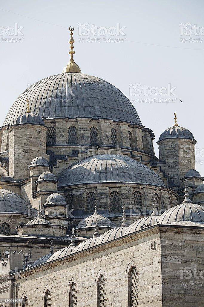 Yeni Cami Mosque royalty-free stock photo