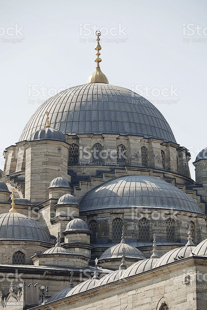 Yeni Cami Mosque royalty-free stock photo