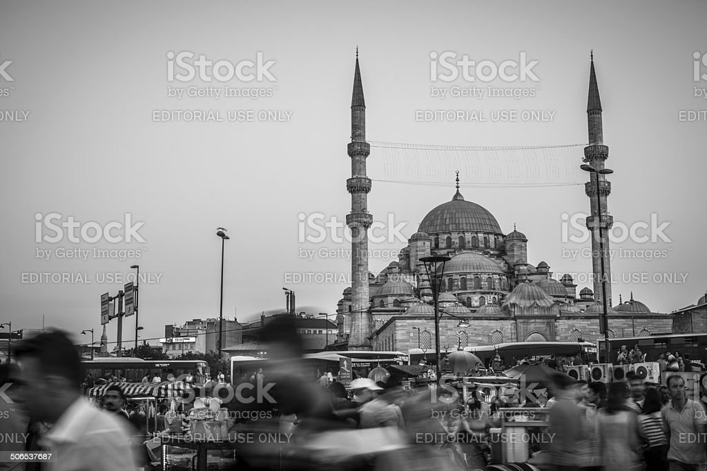 Yeni Cami stock photo