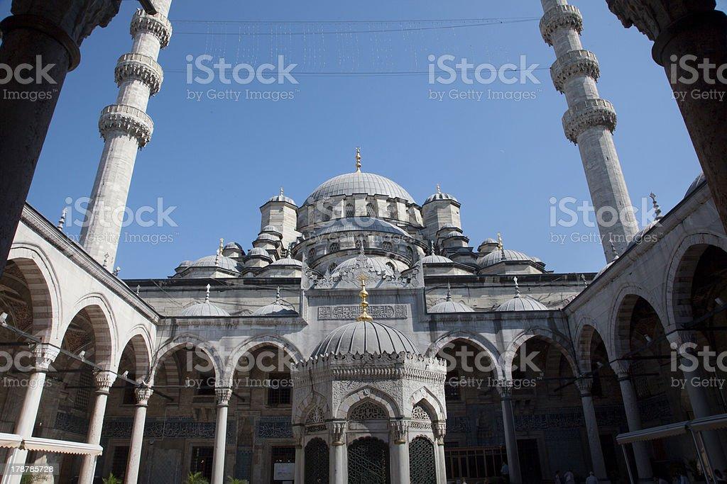 Yeni Camii Mosque stock photo
