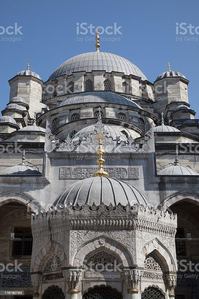 Yeni Cami's Detail stock photo