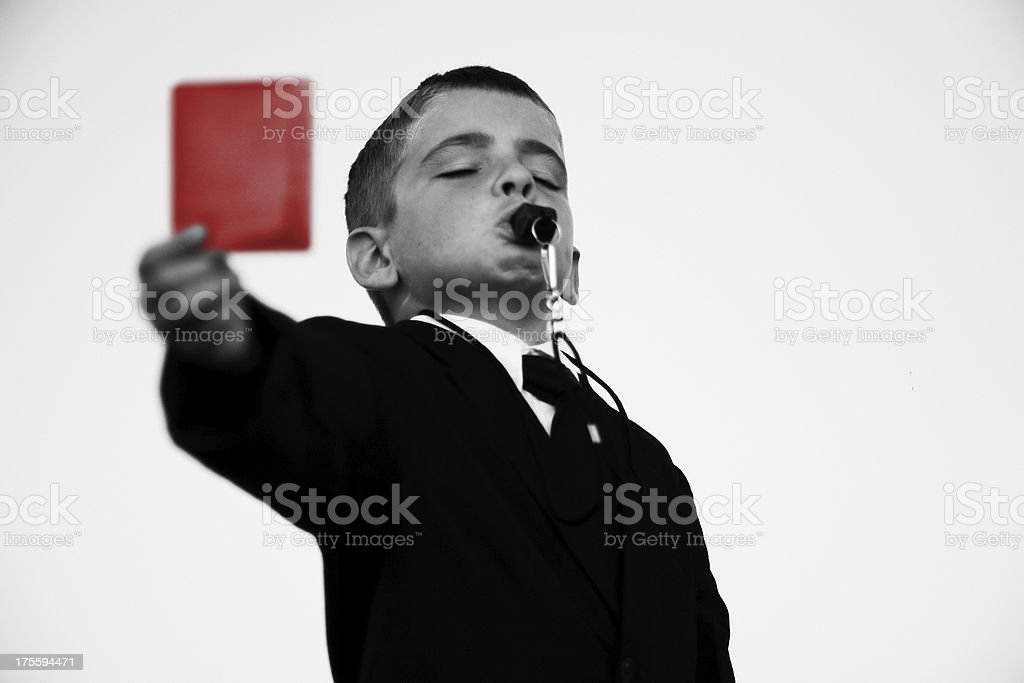 Yer Outta Here royalty-free stock photo