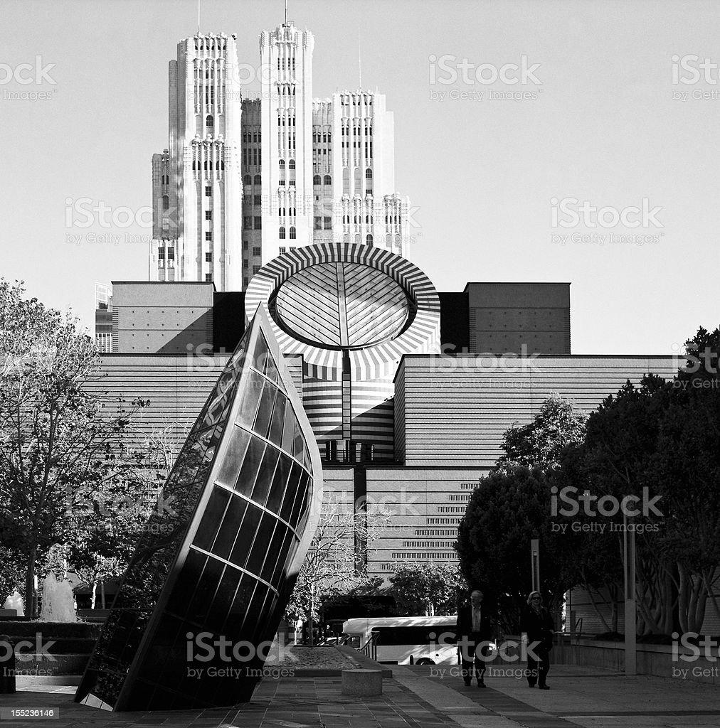 Yerba Buena Arts District stock photo