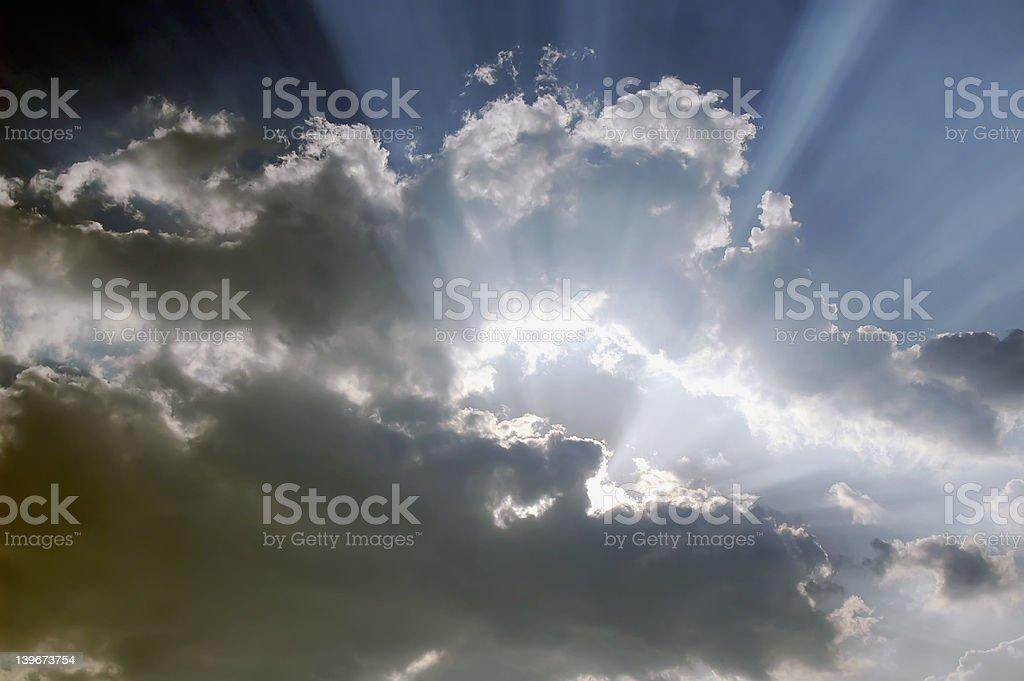 Yes God royalty-free stock photo