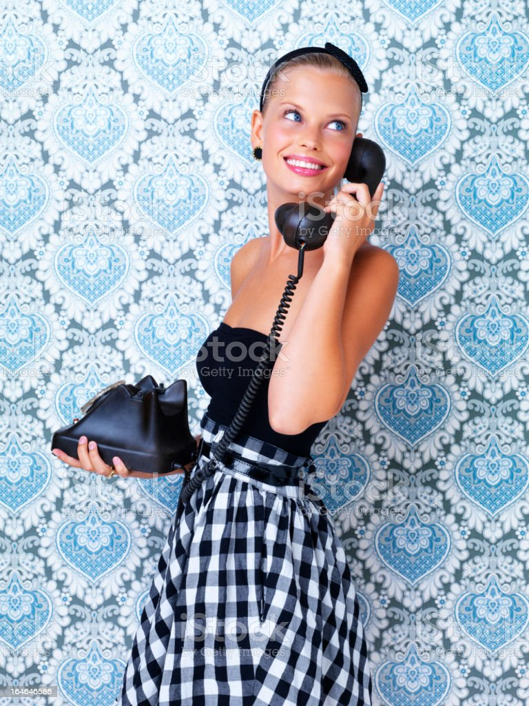 Yes, I'm here.... royalty-free stock photo