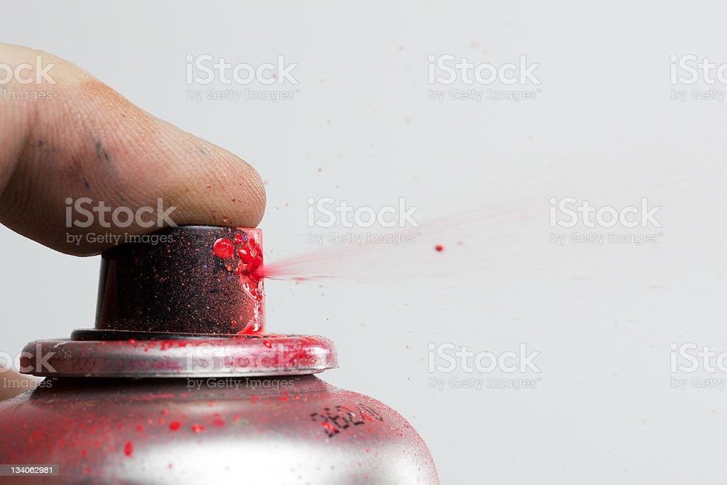 yes we spray stock photo