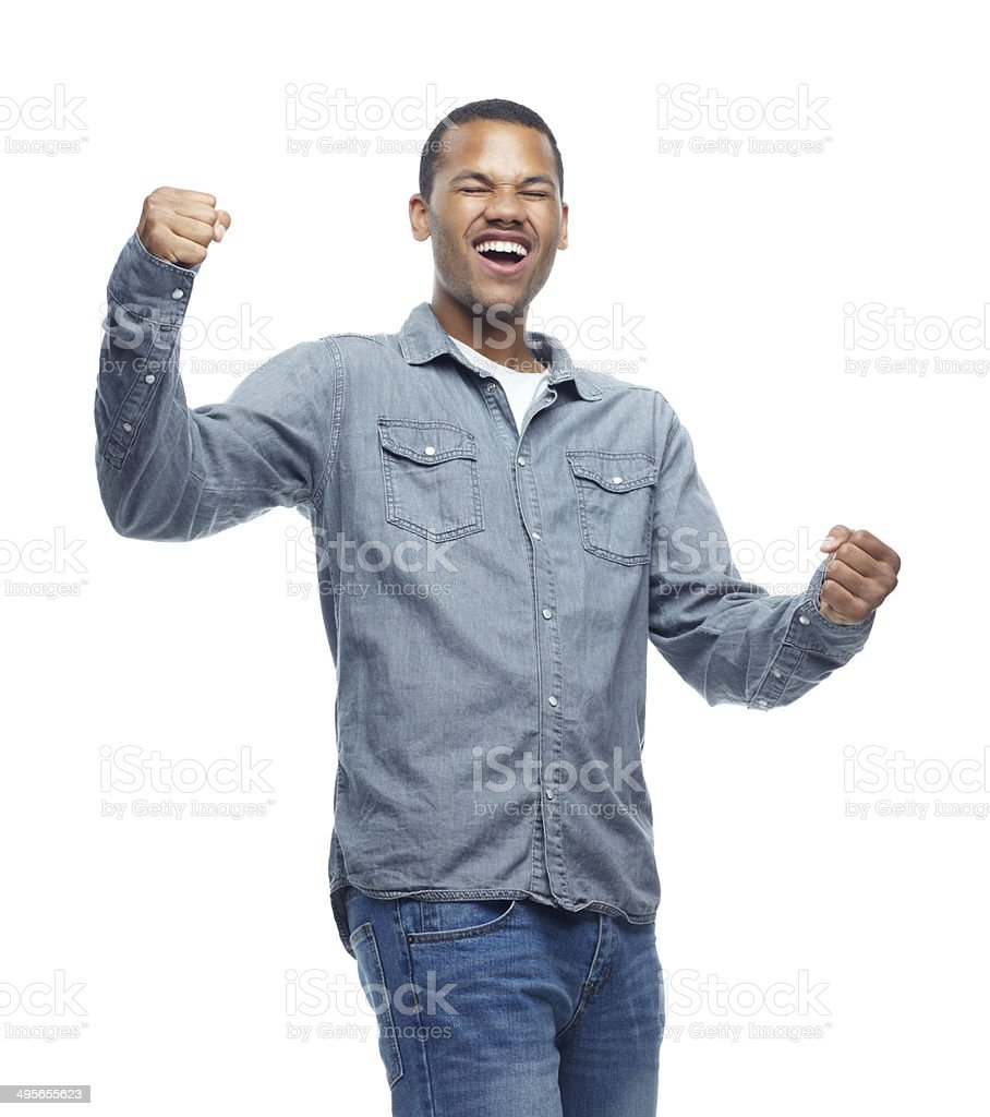 Yessss!!! I passed!!! royalty-free stock photo