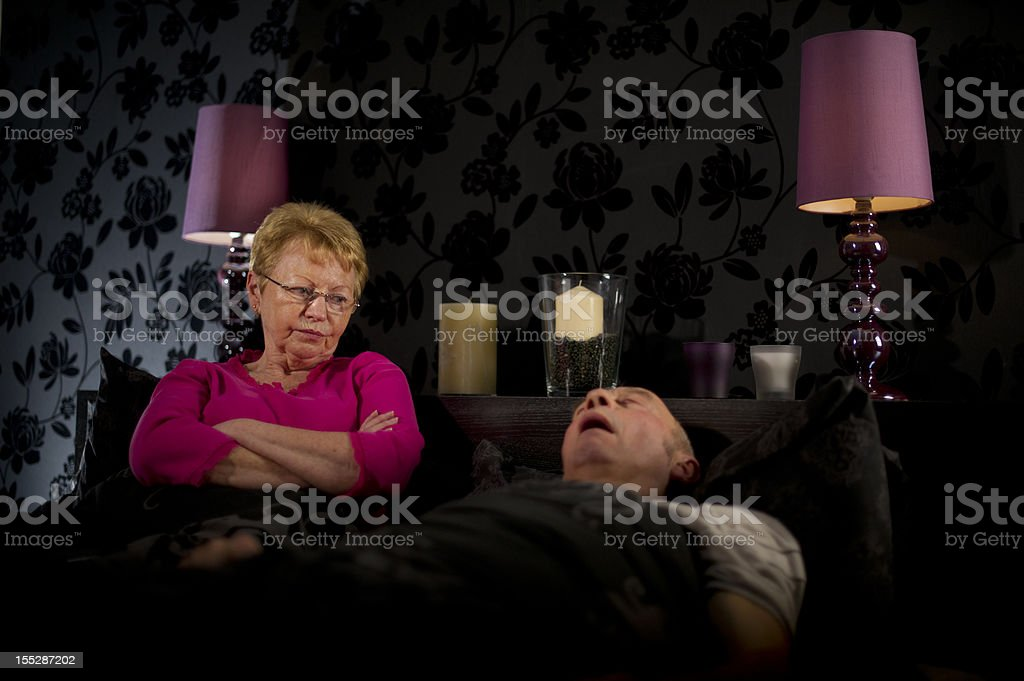 Yet another sleepless night royalty-free stock photo