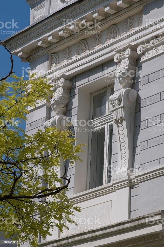 Yevpatoria - old beautiful architecture stock photo