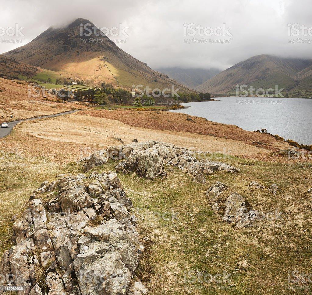 Yewbarrow And Wast Water stock photo