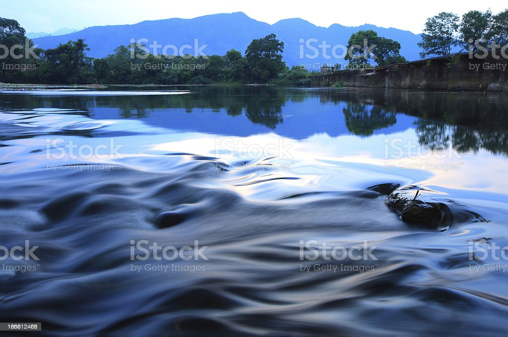 yi river royalty-free stock photo
