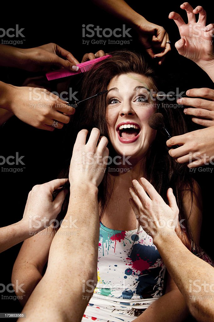 Yikes! royalty-free stock photo