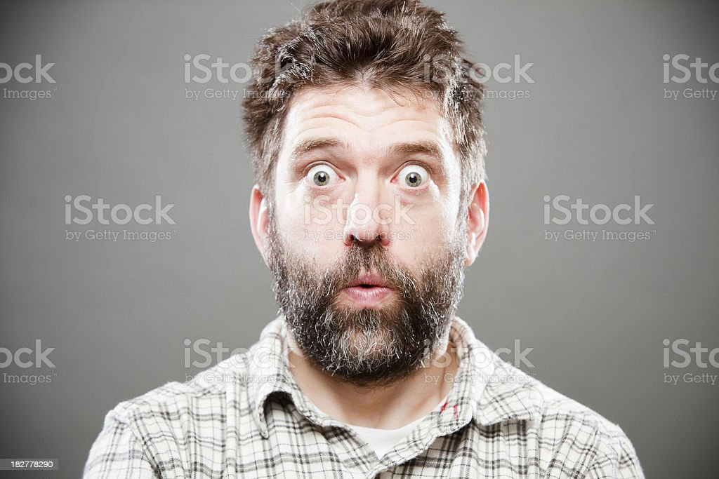 Yikes stock photo