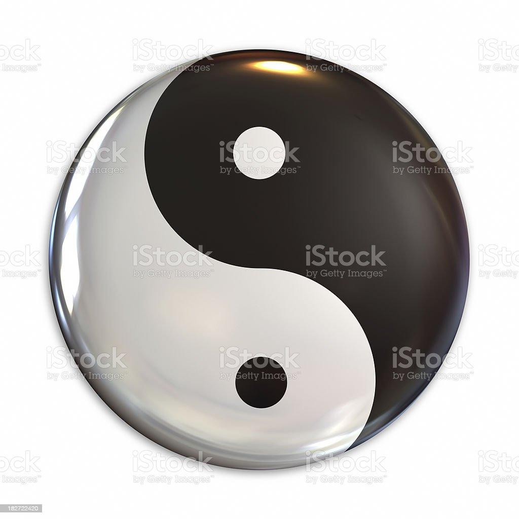 Yin Yang stock photo