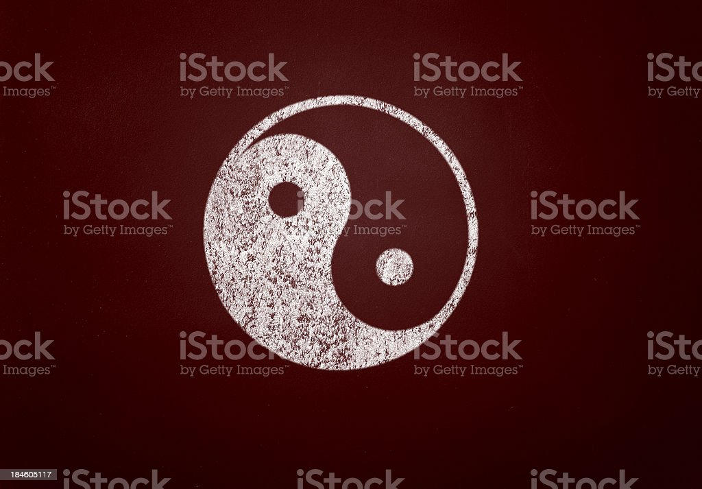 yin yang royalty-free stock photo