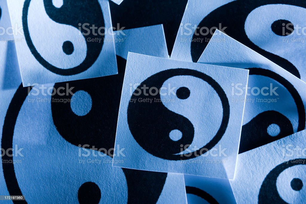 Ying yang royalty-free stock photo