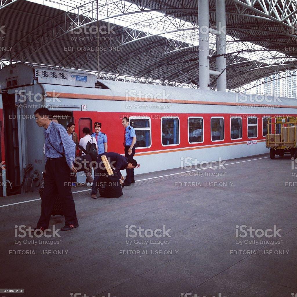 Yingzhuo Train royalty-free stock photo