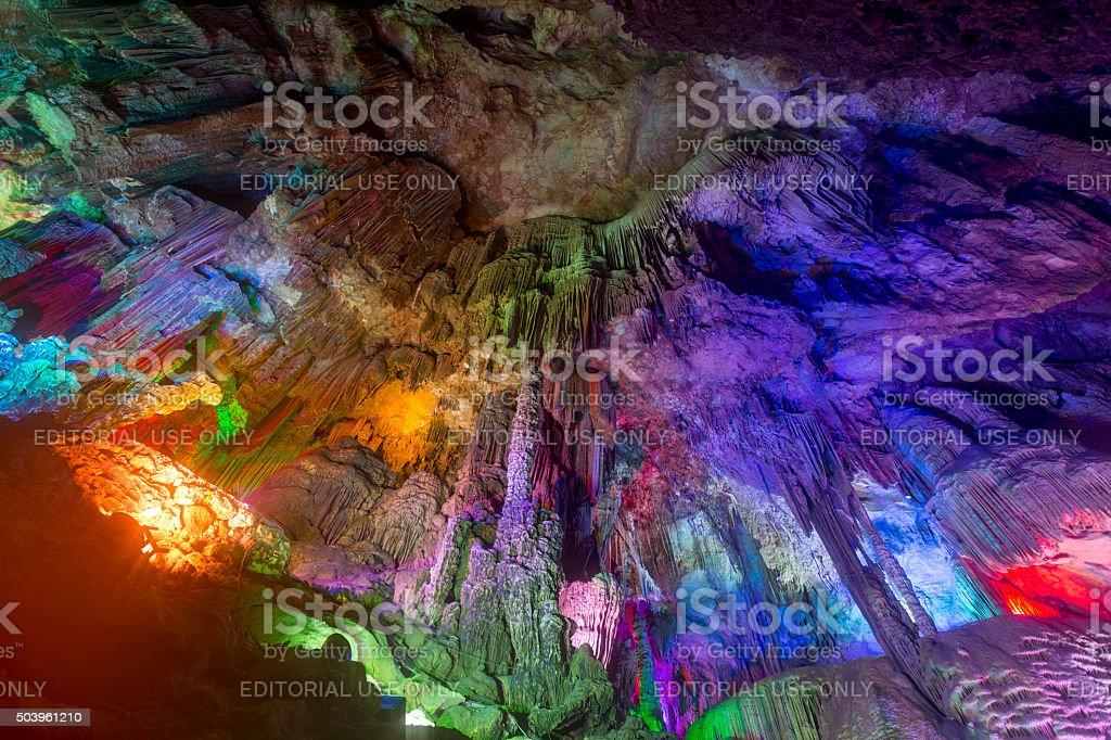 Yinziyan Cave, China stock photo